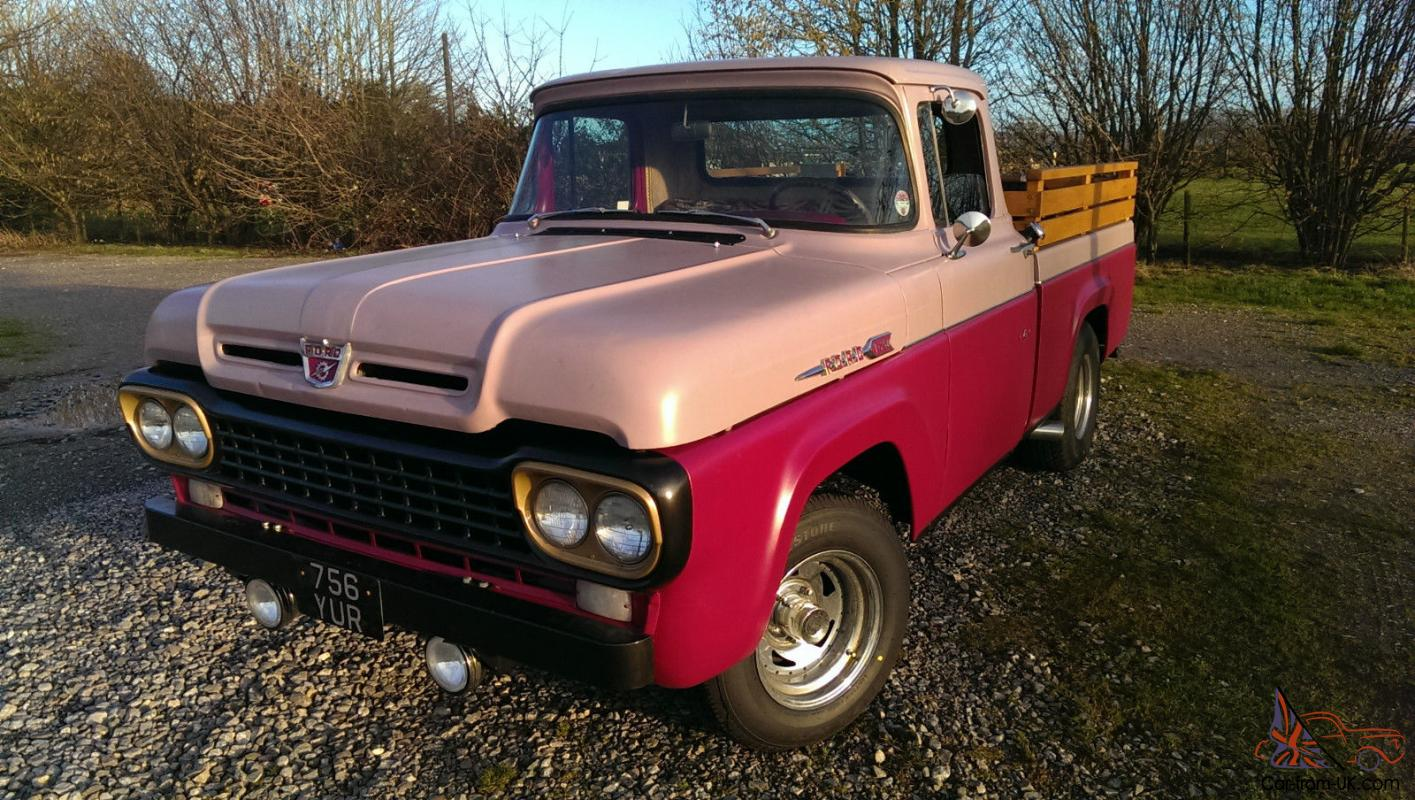 1958 ford f250 pick up classic american car truck. Black Bedroom Furniture Sets. Home Design Ideas