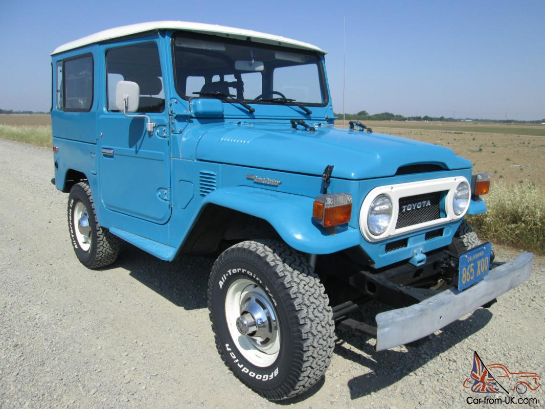 fj 40 1978 low milage california car original blue plates. Black Bedroom Furniture Sets. Home Design Ideas