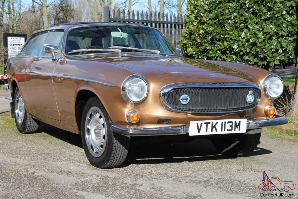 volvo p1800 es auto gold genuine 65 000 miles from new. Black Bedroom Furniture Sets. Home Design Ideas