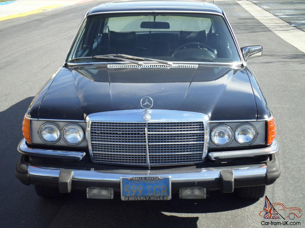 Mercedes benz 400 series 450 sel for Mercedes benz fixed price servicing costs