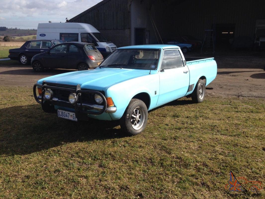 ford cortina mk3 bakkie, 2.5 v6 excellent project, not barn find.