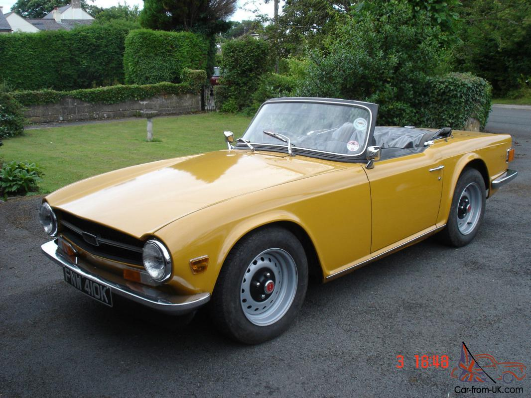 1972 triumph tr6 tax exempt. Black Bedroom Furniture Sets. Home Design Ideas