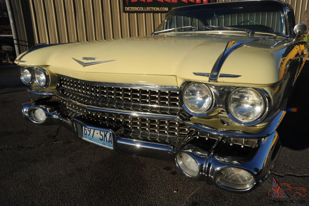Cadillac : DeVille Biggest Fins in History
