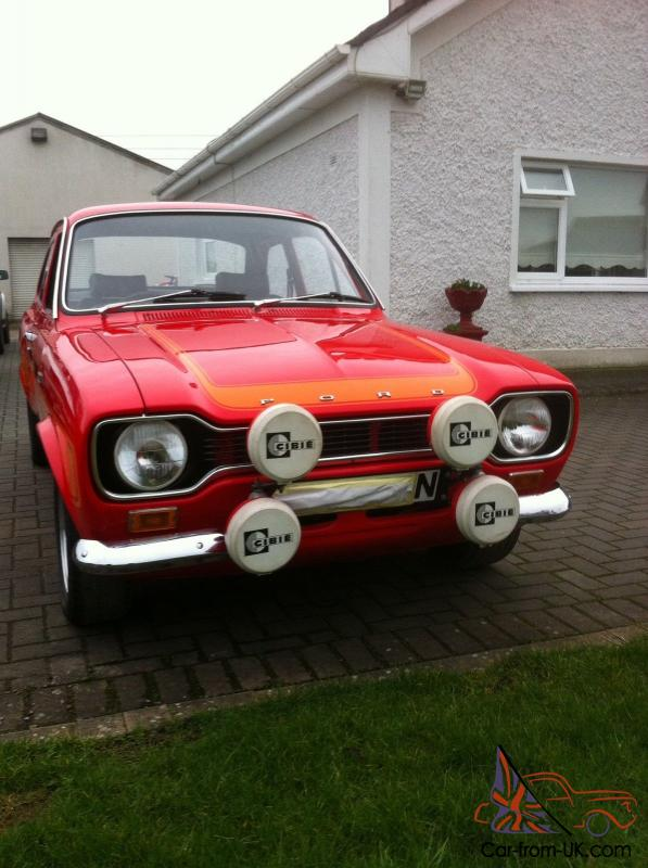 ford escort mk1 rs2000 avo 1975 fully restored. Black Bedroom Furniture Sets. Home Design Ideas
