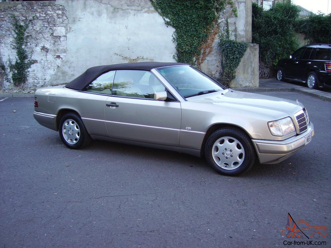 Mercedes W124 E220 Cabriolet Convertible 1996 Automatic