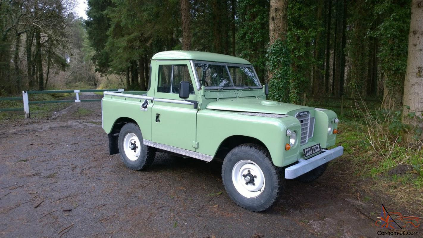 land rover landrover series 3 88 inch swb 1972 tax exempt 12 months mot. Black Bedroom Furniture Sets. Home Design Ideas