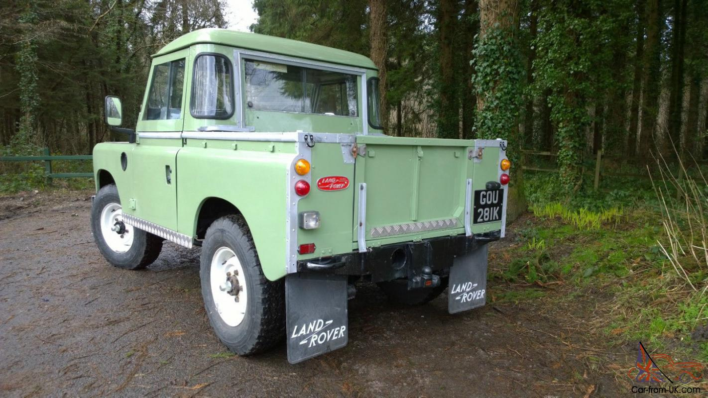 land rover landrover series 3 88 inch swb 1972 tax exempt. Black Bedroom Furniture Sets. Home Design Ideas