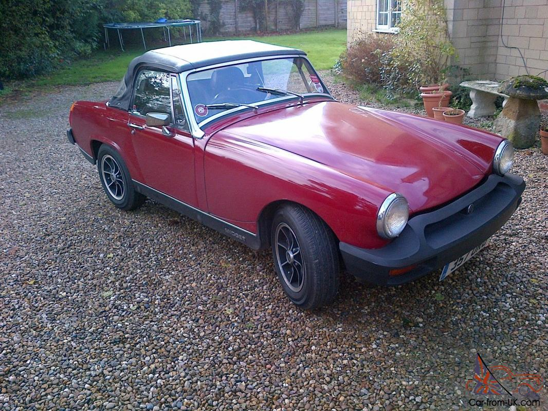 You want red mg midget sit