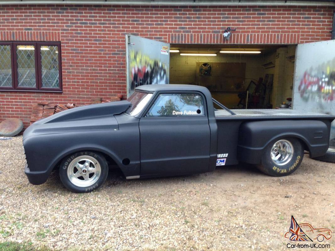 1968 Chevrolet C10 Drag Racing Pick Up Chevy Pickup Truck