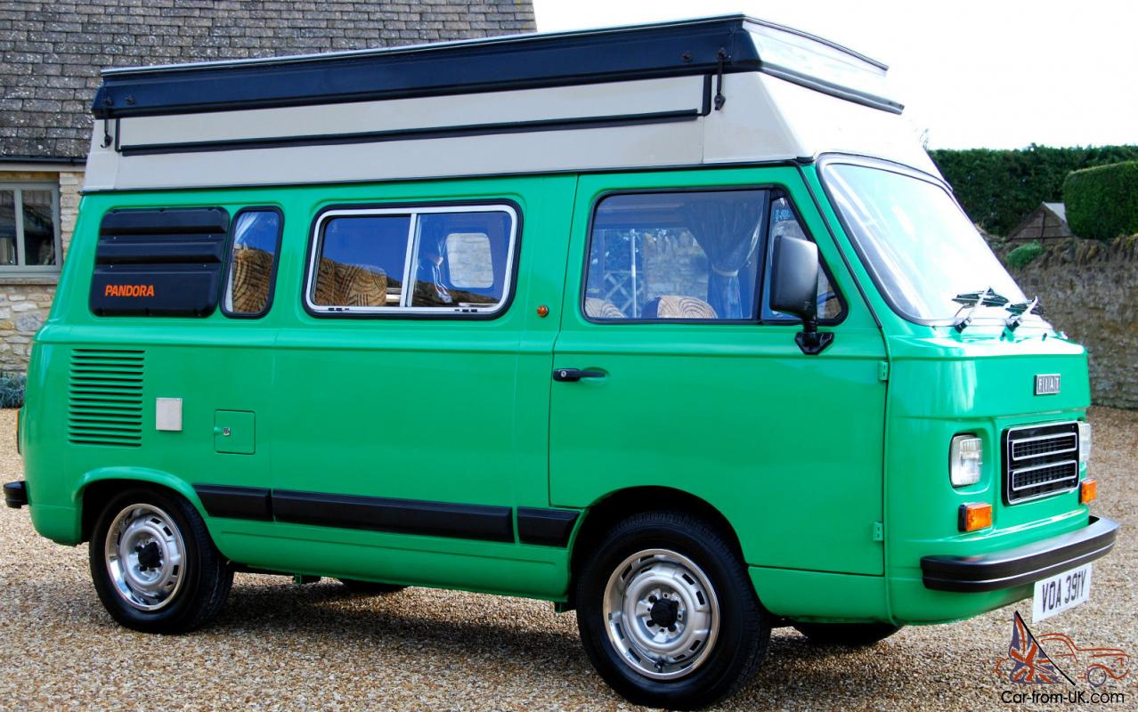stunning 1983 fiat 900e ci autohomes pandora 4 berth camper genuine 8 700 miles. Black Bedroom Furniture Sets. Home Design Ideas