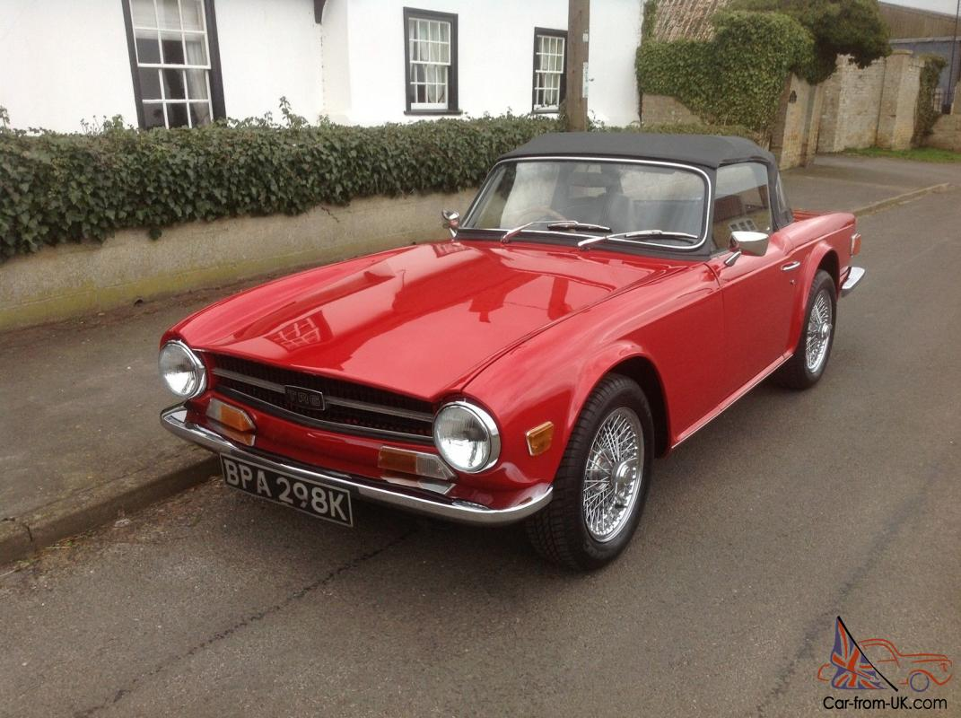 1971 triumph tr6 simon cowells tr6 yes honestly the simon cowell rh car from uk com 1965 Triumph TR6 1971 Triumph TR6 Interior