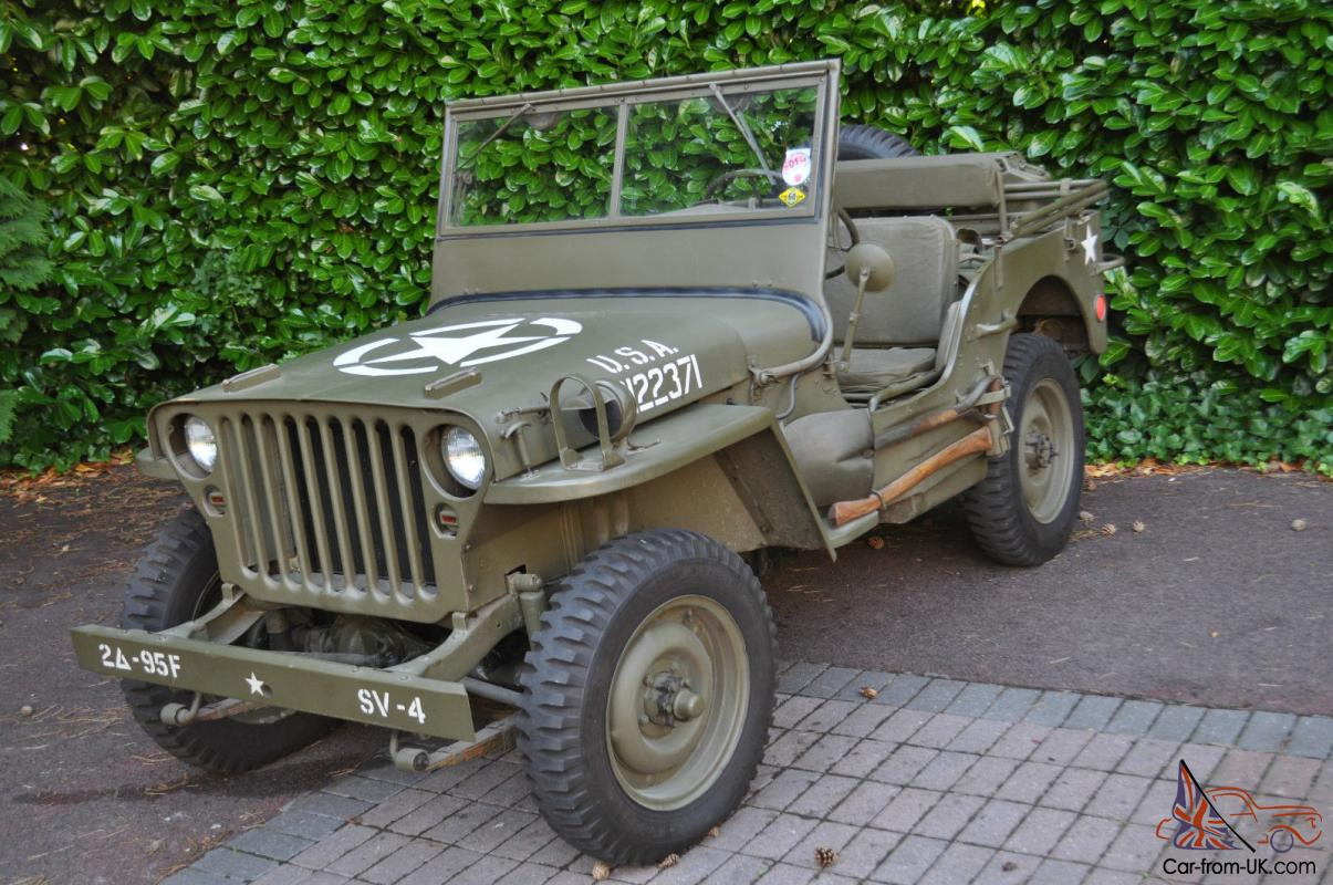 us ww2 willys jeep willys mb original 1945. Black Bedroom Furniture Sets. Home Design Ideas