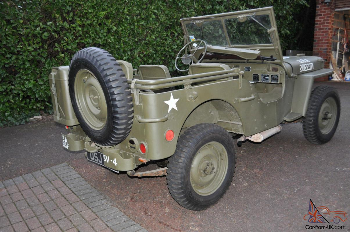 Reproduction Willys Jeep For Sale >> Us Ww2 Willys Jeep Willys Mb Original 1945