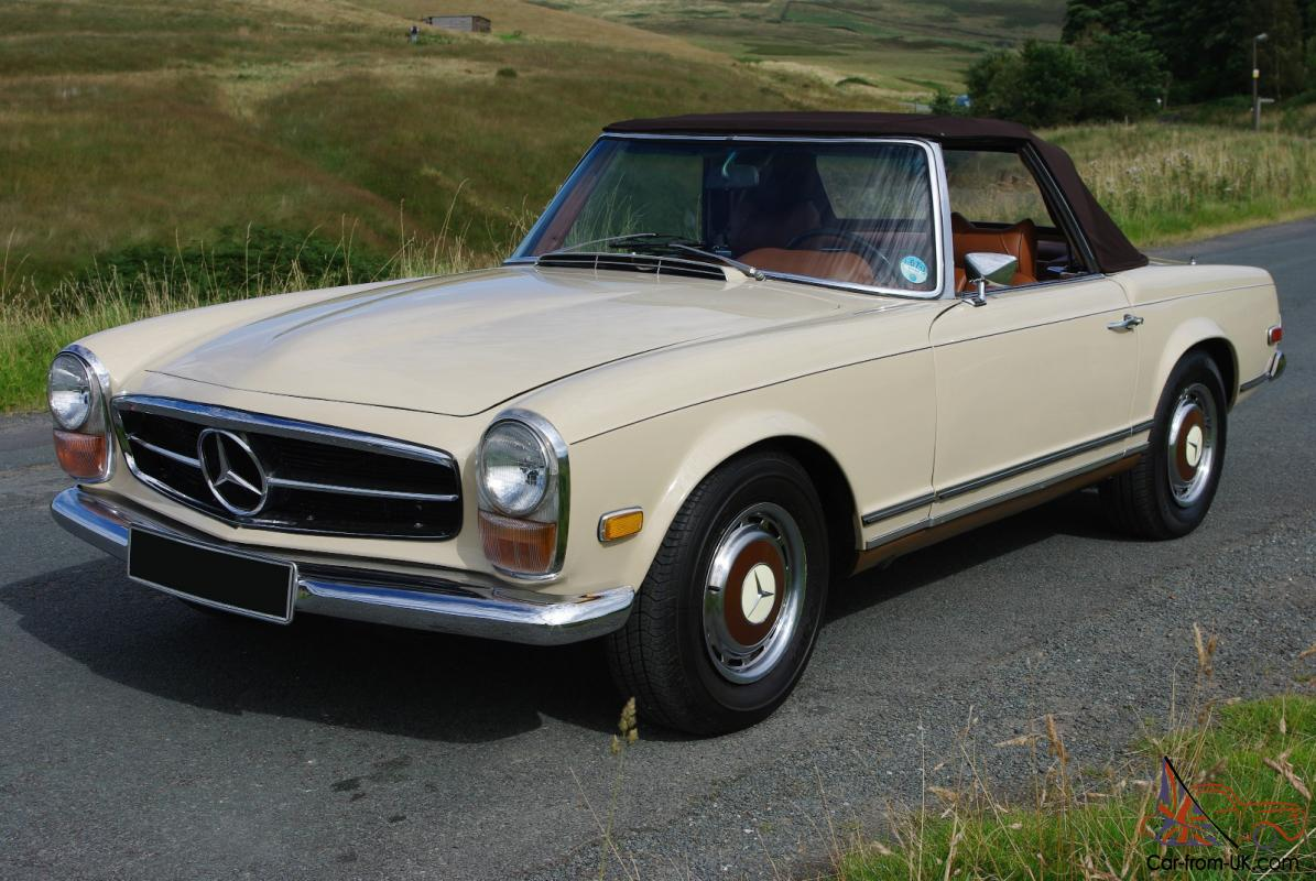 1970 mercedes benz 280 sl pagoda lovely condition hard for Mercedes benz 280sl pagoda