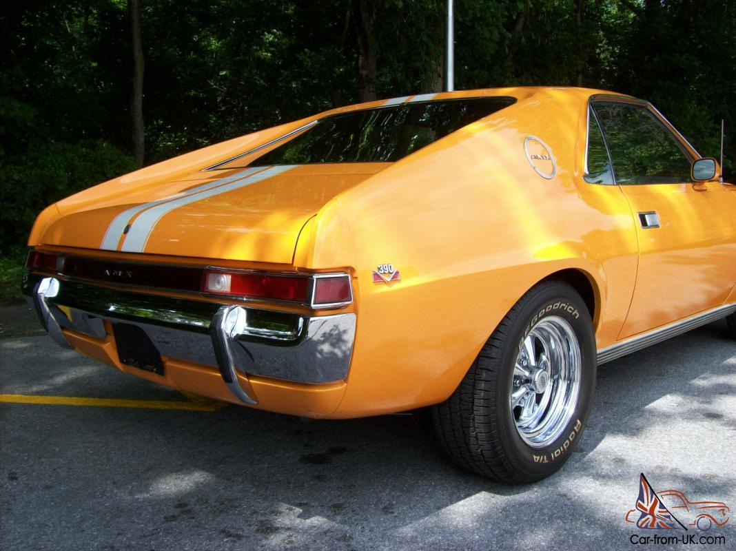 1969 AMX 390 4 SPEED RARE COLLECTIBLE MUSCLE CAR