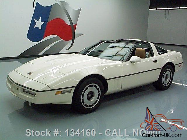 Texas Auto Trim >> 1985 CHEVY CORVETTE C4 L98 AUTO TARGA TOP BOSE ONLY 29K TEXAS DIRECT AUTO