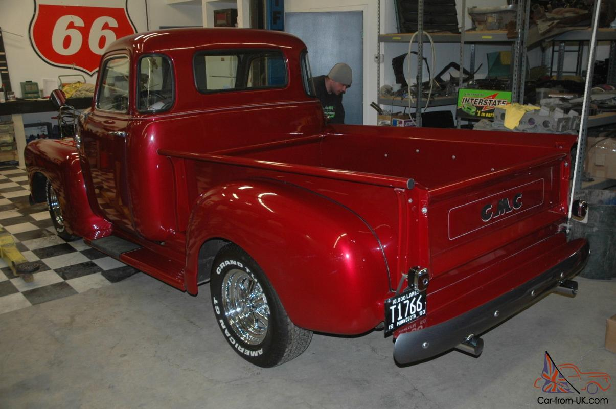 1950 gmc 5 window pickup truck restomod
