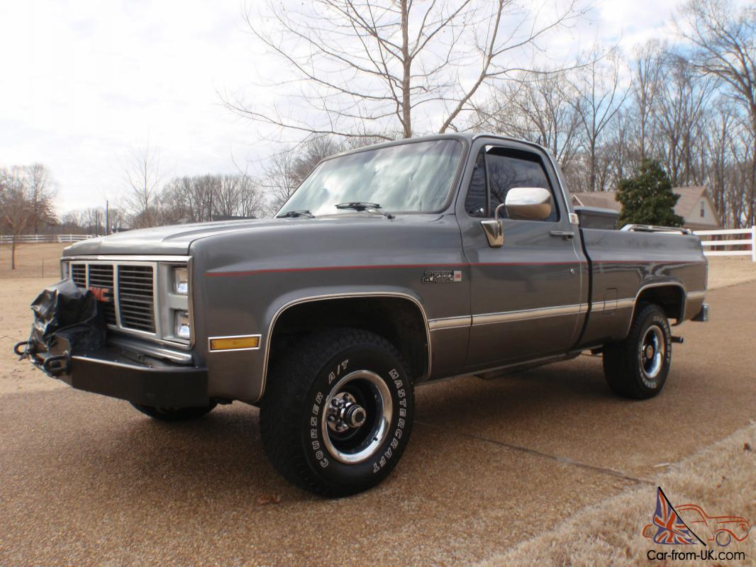 1987 Gmc Sierra For Sale Autos Post