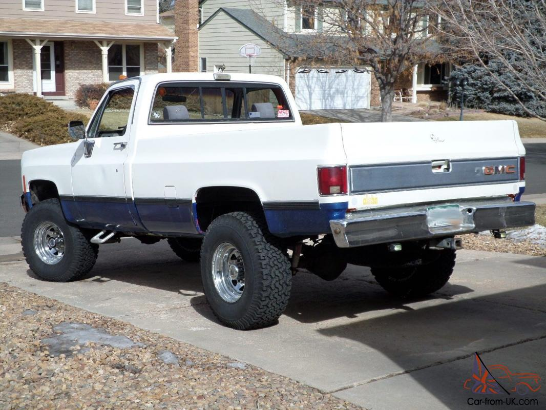 1978 gmc 4x4 long bed big truck needs new home. Black Bedroom Furniture Sets. Home Design Ideas