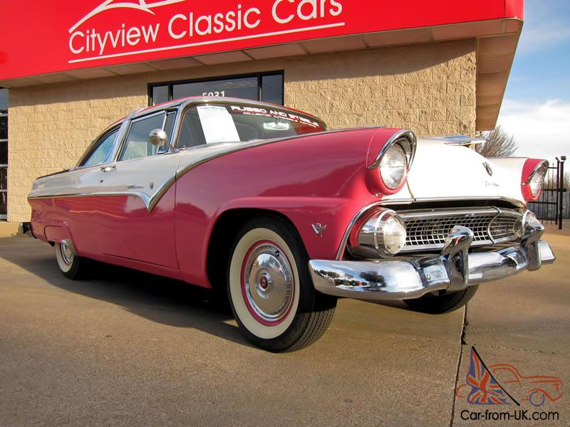 Ford Crown Victoria Coupe Matching Numbers Showroom Restored Photo