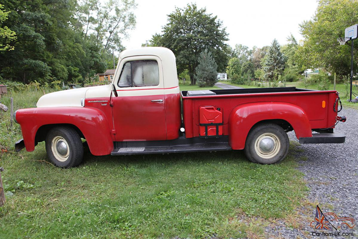 1957 international harvester pickup truck s112. Black Bedroom Furniture Sets. Home Design Ideas