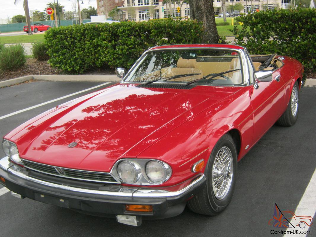 1987 jaguar xjs v12 convertible. Black Bedroom Furniture Sets. Home Design Ideas
