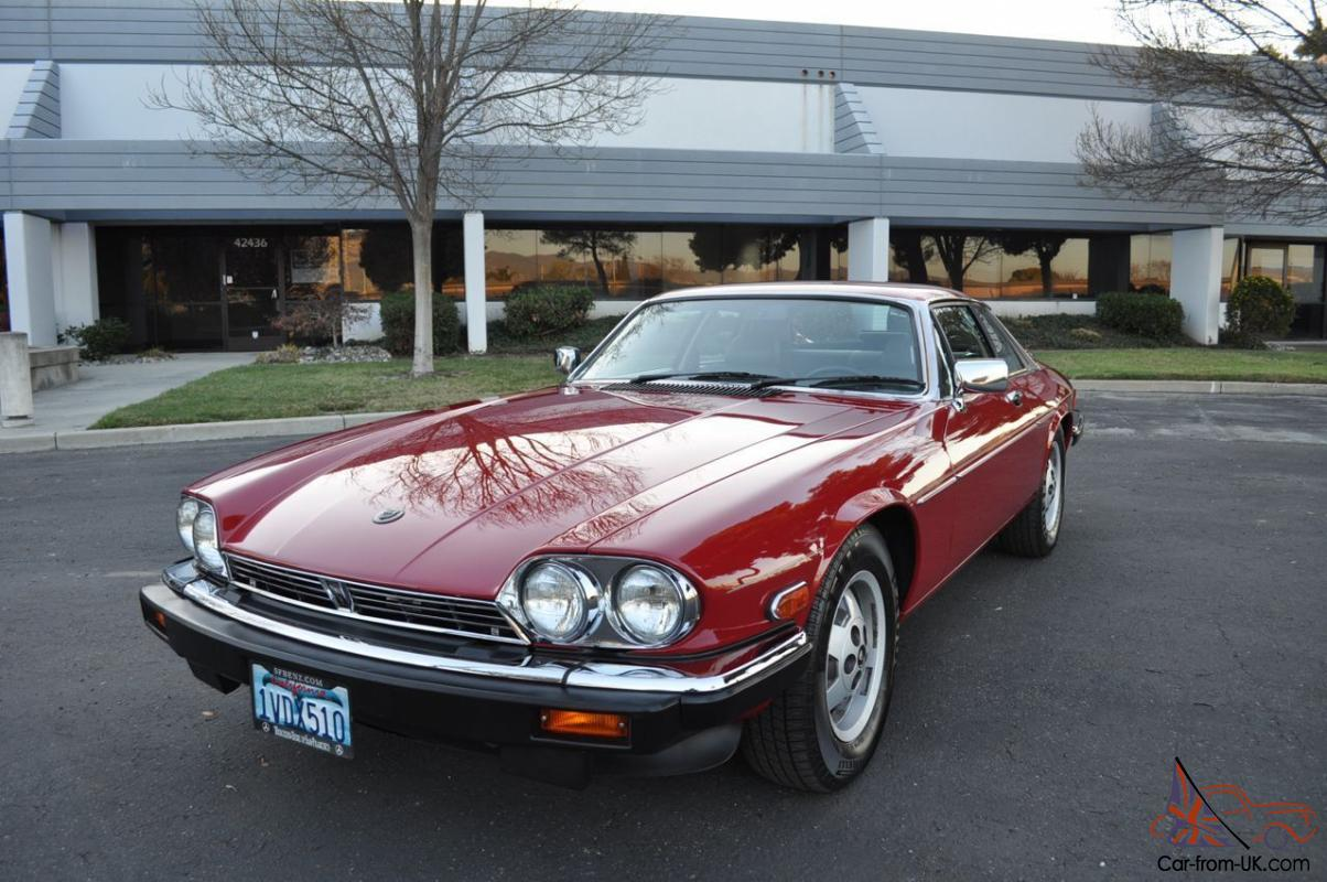 1987 jaguar xjs v12 coupe original ca car low miles clean. Black Bedroom Furniture Sets. Home Design Ideas