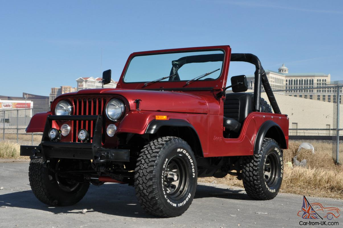 1976 Jeep Cj5 For Sale 1978 CJ5 COMPLETE GROUND UP RESTORATION NEW PAINT ...