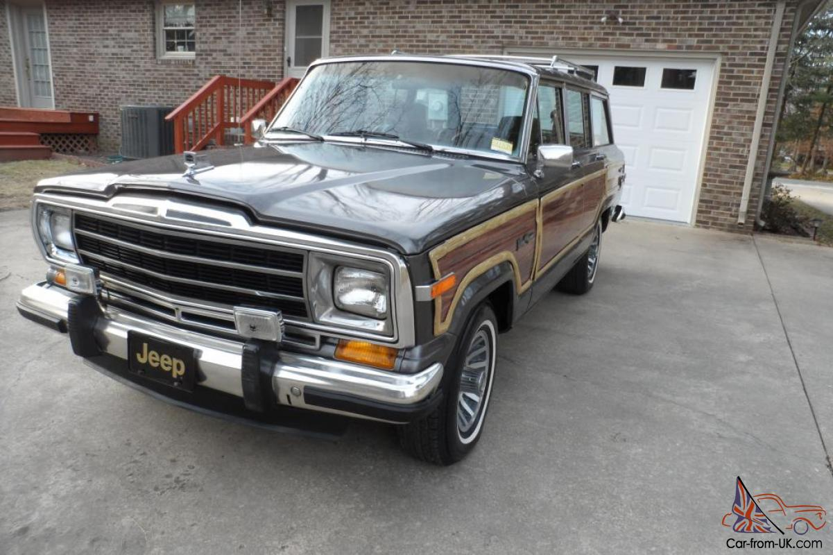 1988 jeep grand wagoneer new paint only 128k no reserve. Black Bedroom Furniture Sets. Home Design Ideas