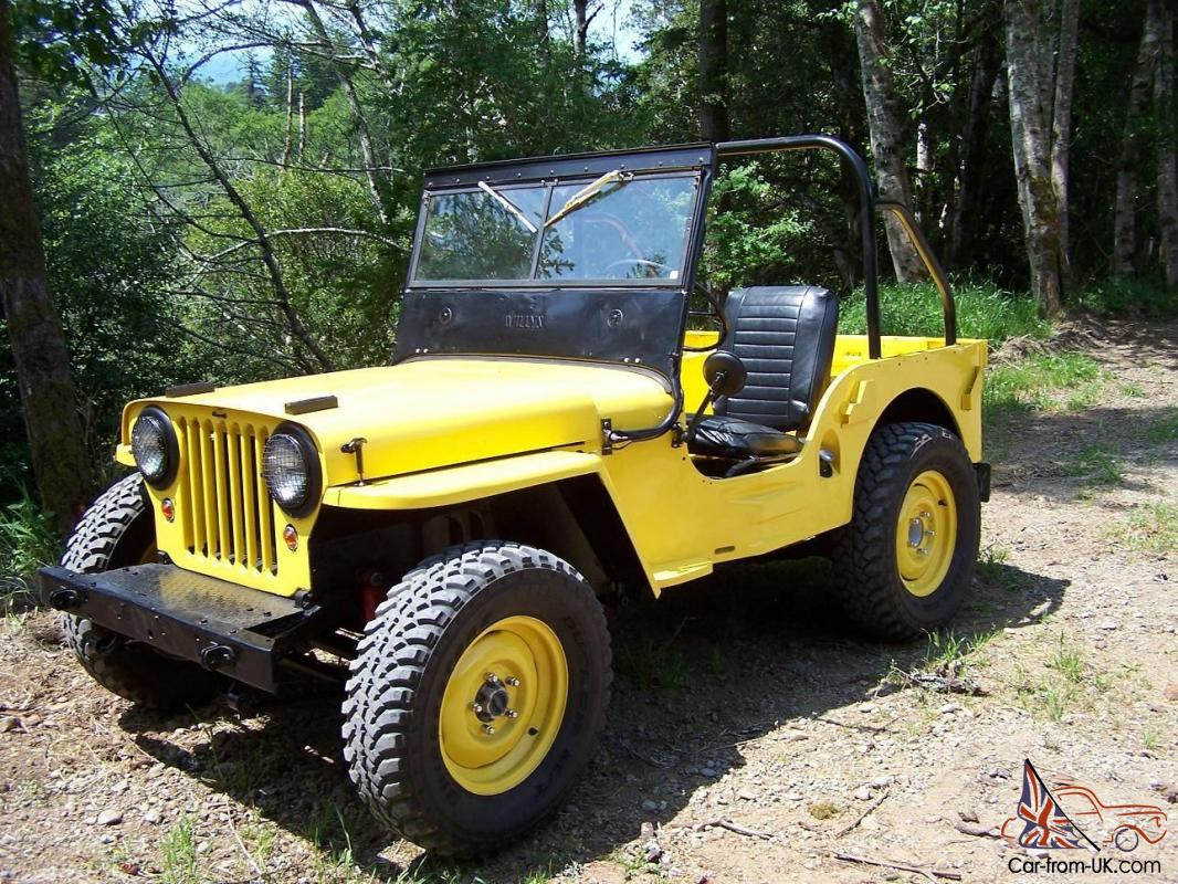 1945 willys jeep cj2a 10325 with rear pto flat belt drum pulley. Black Bedroom Furniture Sets. Home Design Ideas