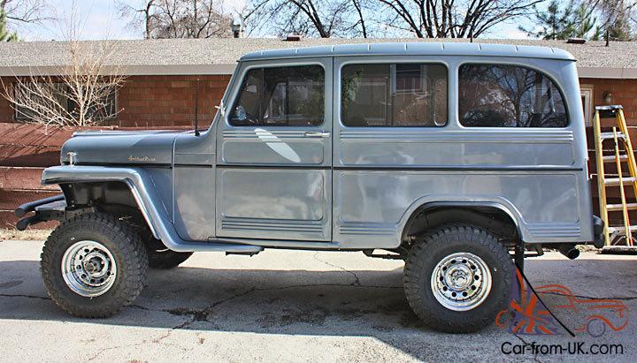 Clear Lake Jeep >> fully restored 1959 Willys Wagon