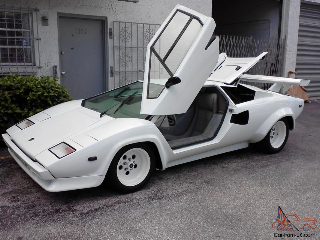 Lamborghini Countach 5000s All Tube Chassis V 8 Replica