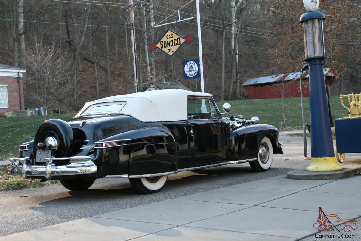 George H Hurst First Known Modified Hot Rod 1946 Lincoln Continental
