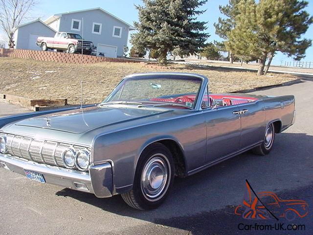 1964 lincoln continental convertable street rod hot custom low rider. Black Bedroom Furniture Sets. Home Design Ideas