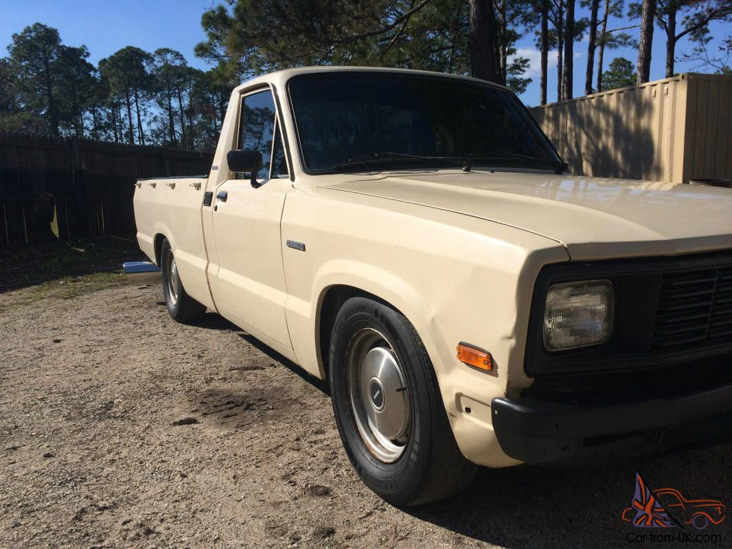 1984 mazda b2200 diesel pickup a c no reserve diesel 40 mpg. Black Bedroom Furniture Sets. Home Design Ideas