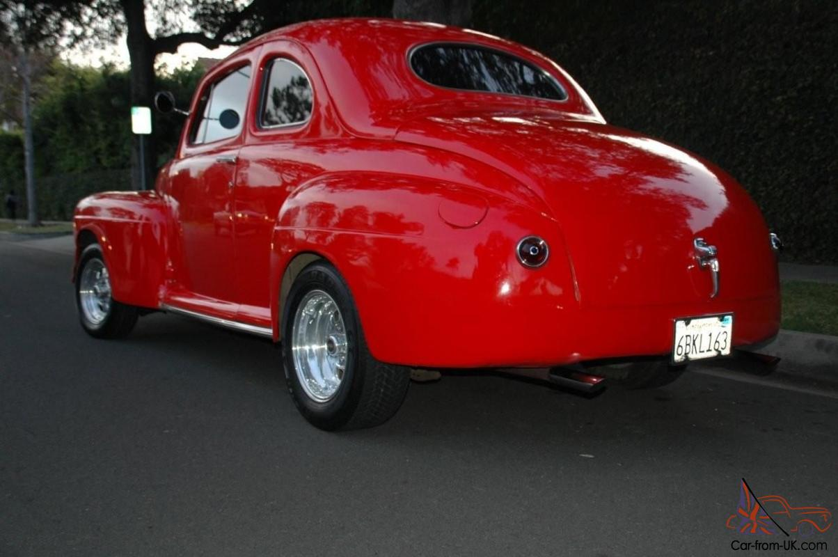 Custom Merc Coupe V8 Hot Rod Muscle Car Classic TRADE ? Not Ford
