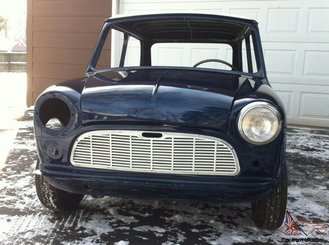 1960 morris classic mini 1st year usa import left hand drive austin cooper 850. Black Bedroom Furniture Sets. Home Design Ideas