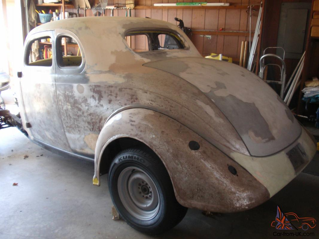 1936 PLYMOUTH – 5 Window Coupe Street Rod Project
