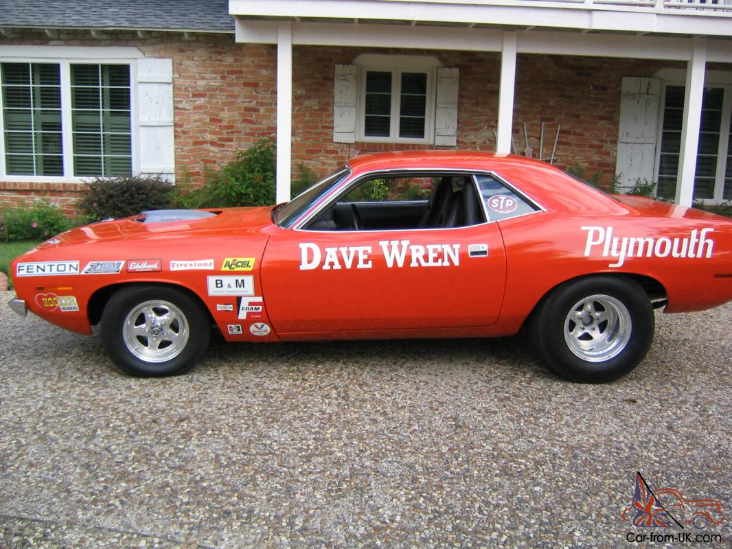Dave Wren's Super Stock 1970 426 HEMI Cuda 2 Time National ... |Cuda Stock Car