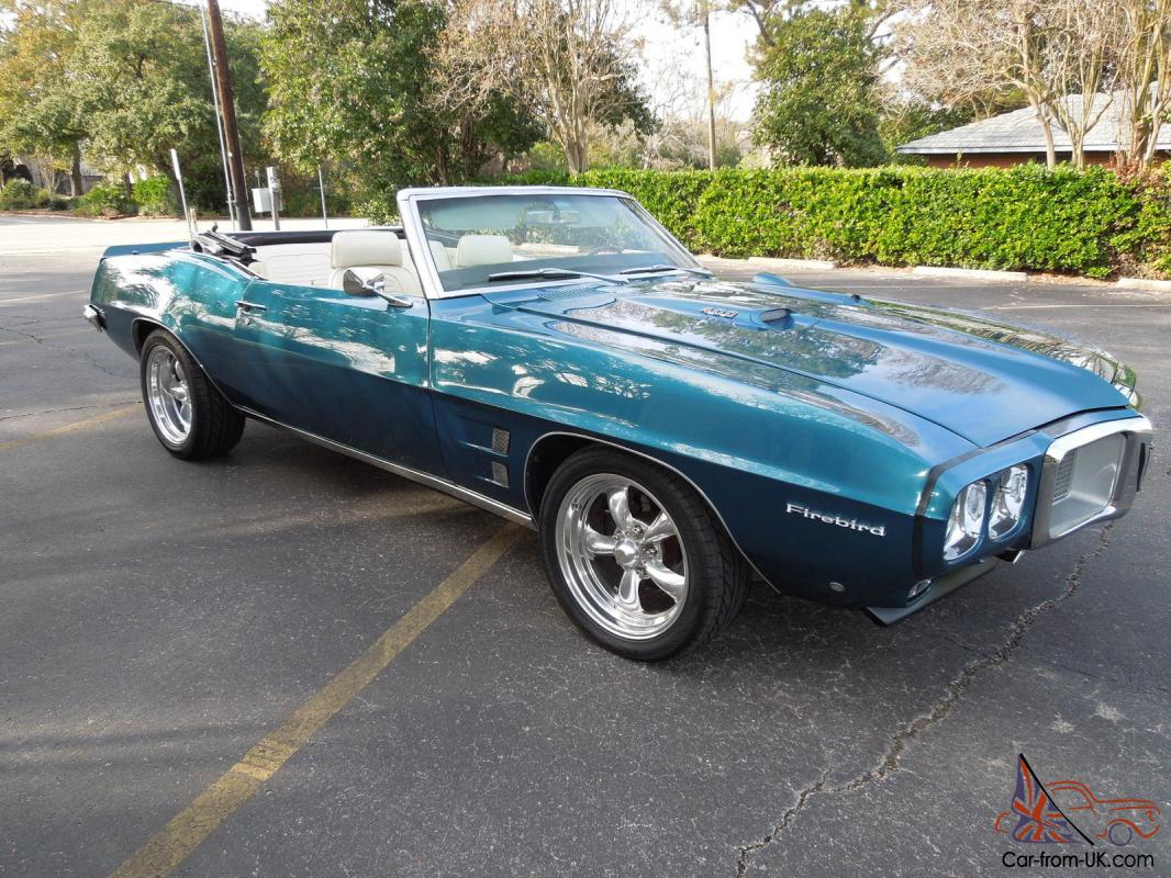 1969 pontiac firebird convertible 2 door. Black Bedroom Furniture Sets. Home Design Ideas
