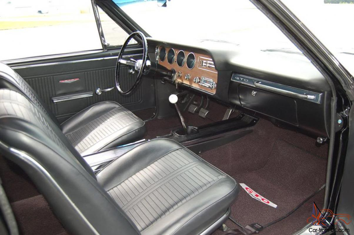 1966 pontiac gto numbers matching full restoration. Black Bedroom Furniture Sets. Home Design Ideas