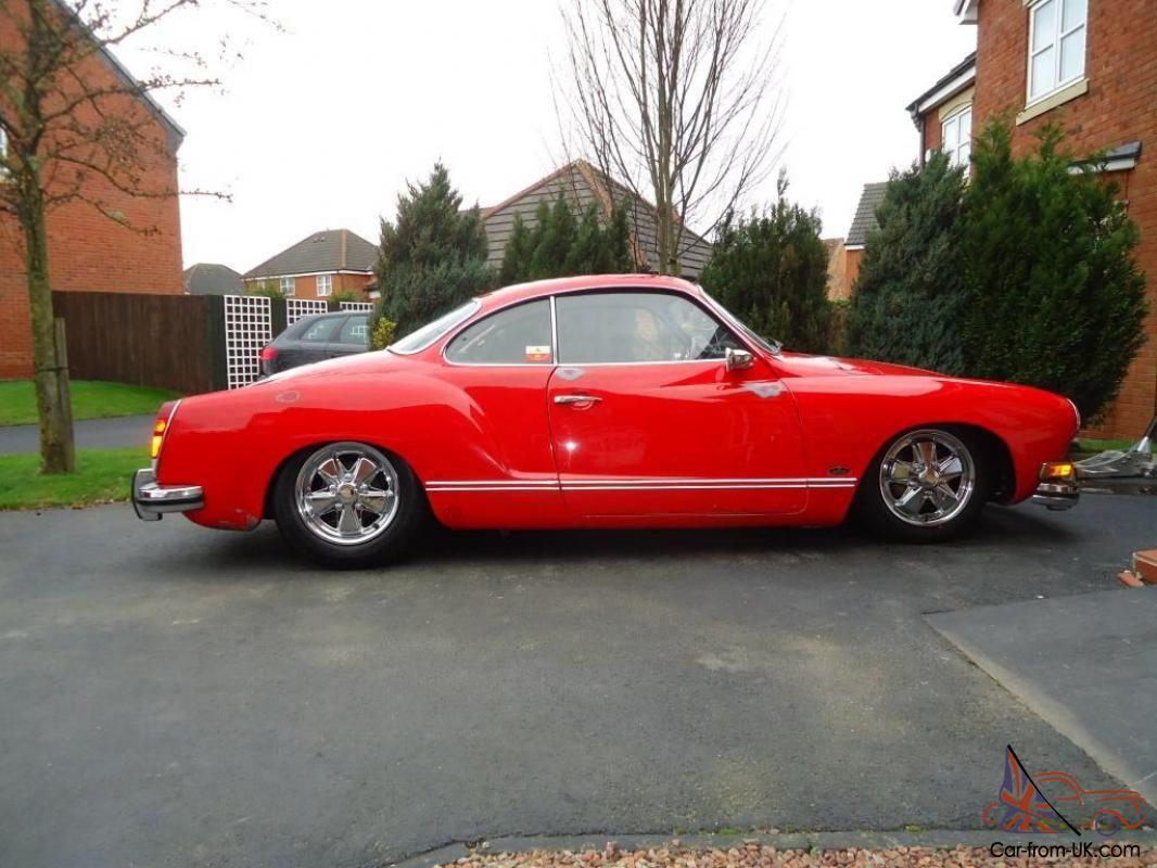 karmann ghia coupe 1973 vw volkswagen slammed narrowed on fuchs. Black Bedroom Furniture Sets. Home Design Ideas
