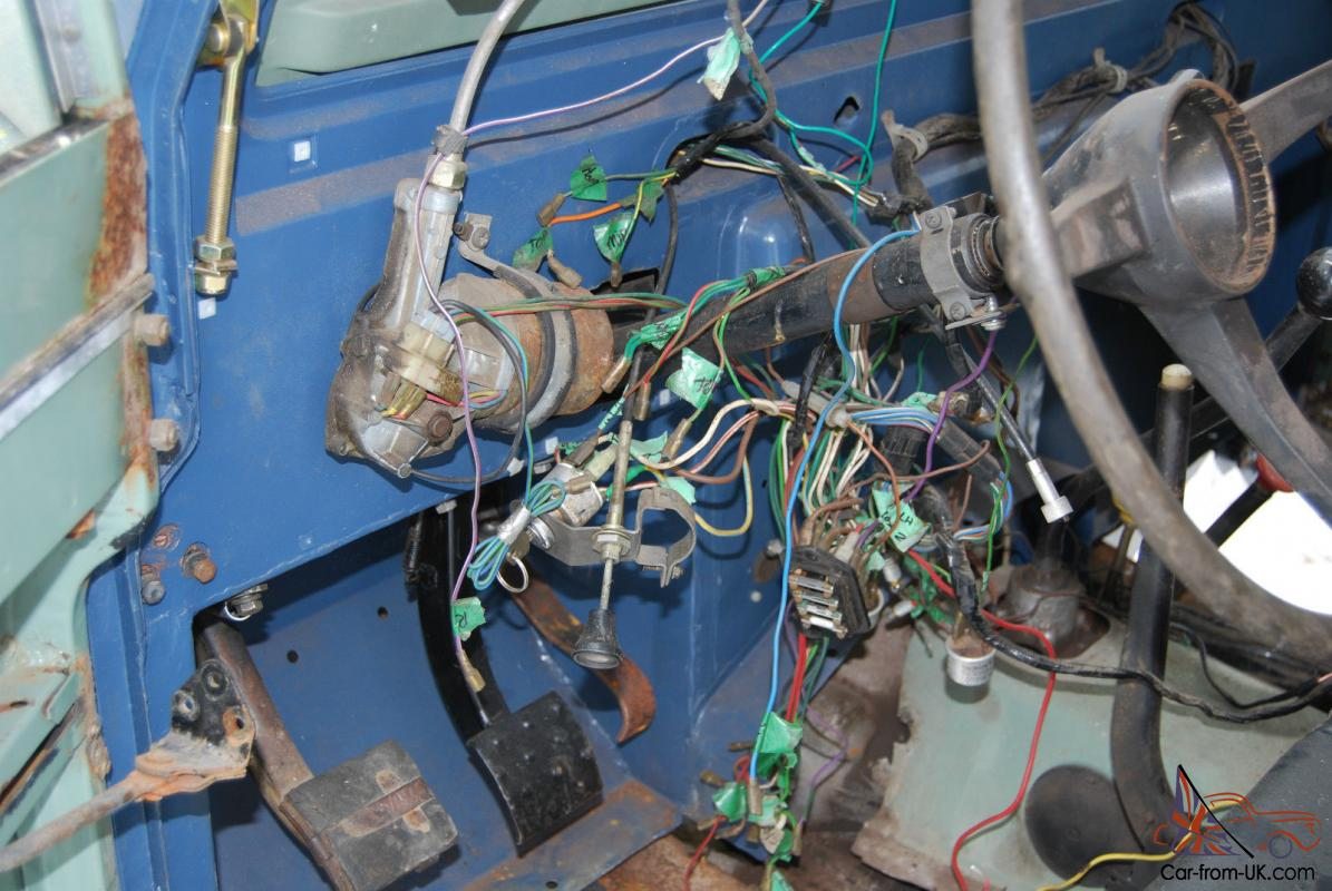 1973 Land Rover Series Iii Project Wiring
