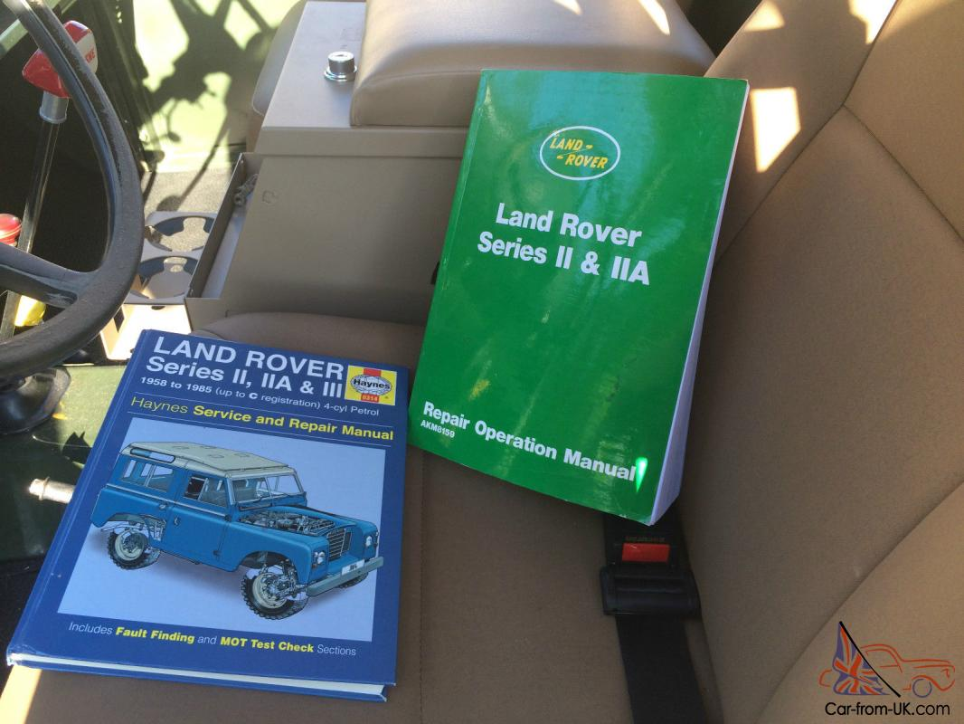 1969 land rover series iia 88. perfect surf buggy.