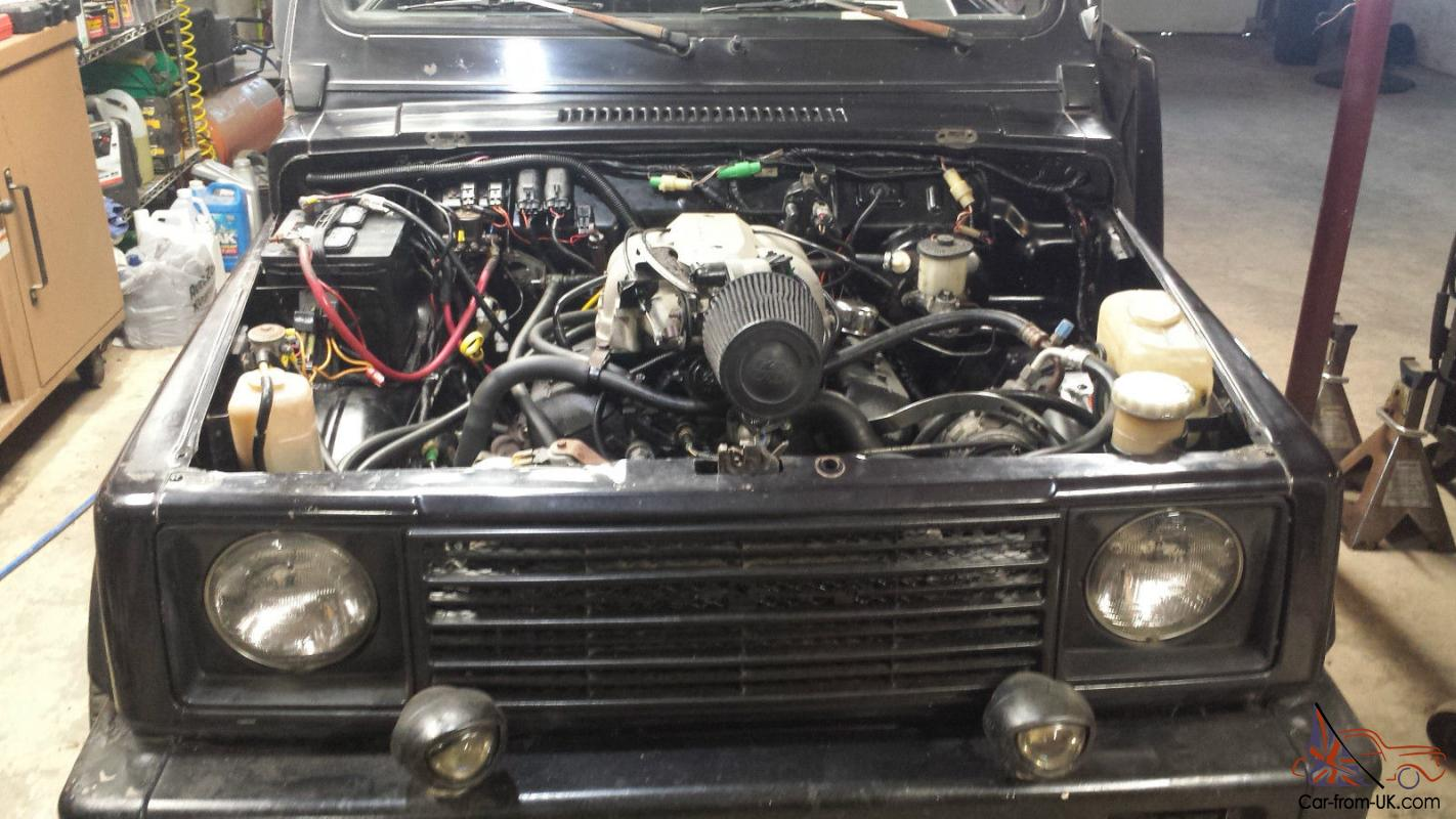 ebay769317 suzuki samurai 4 3 vortec v6 conversion fast !!!  at nearapp.co