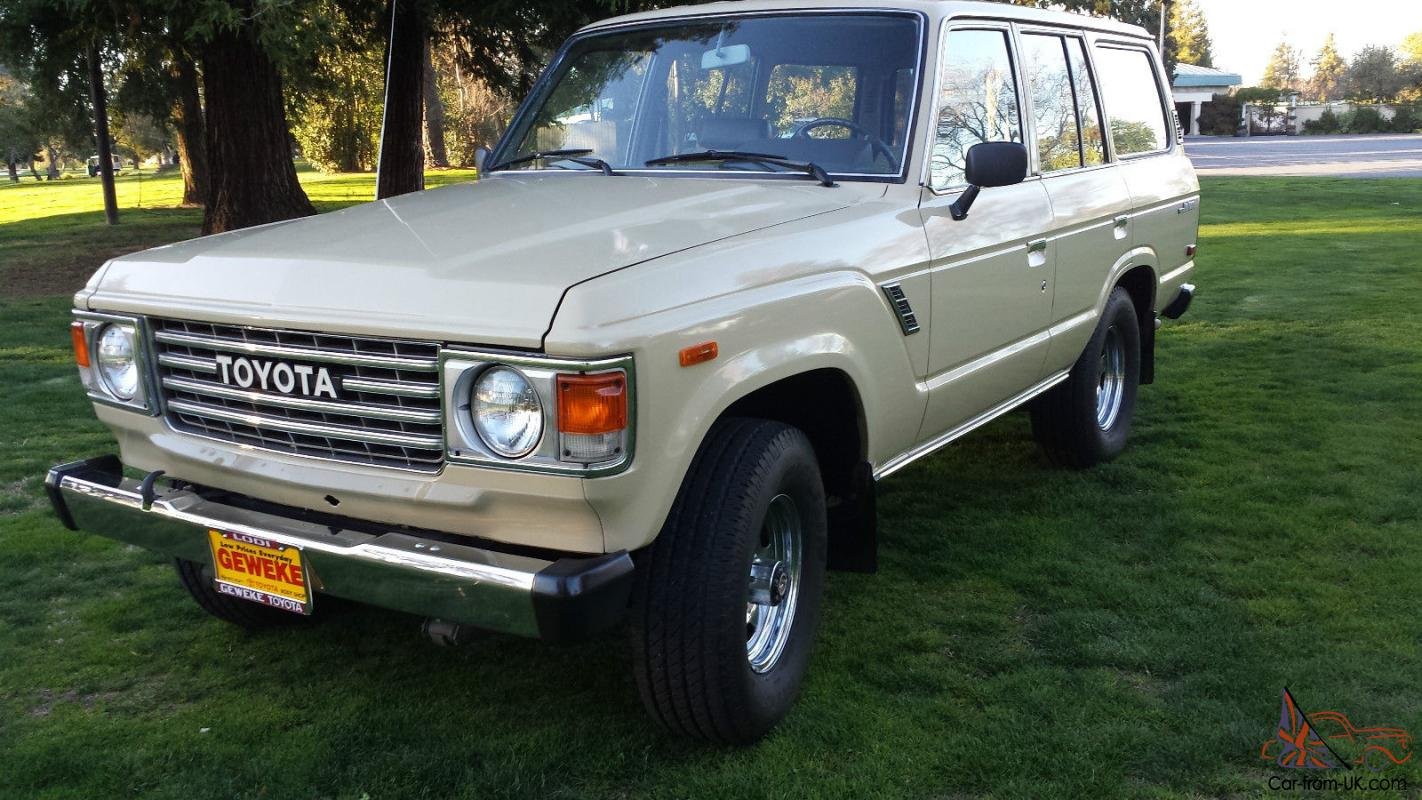 1981 Toyota Land Cruiser Fj60 Immaculate Original