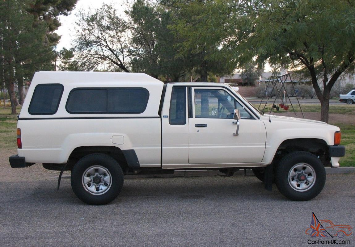 1986 toyota 4x4 xtra cab deluxe pickup truck excellent. Black Bedroom Furniture Sets. Home Design Ideas