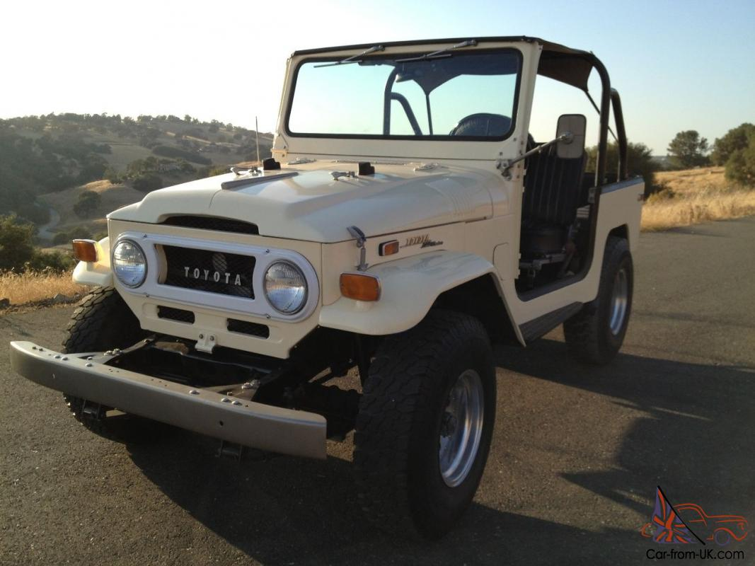 1970 toyota fj40 land cruiser 4x4 v8 conversion. Black Bedroom Furniture Sets. Home Design Ideas