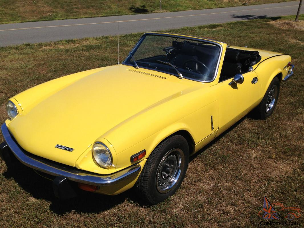 1973 triumph spitfire 1500. Black Bedroom Furniture Sets. Home Design Ideas