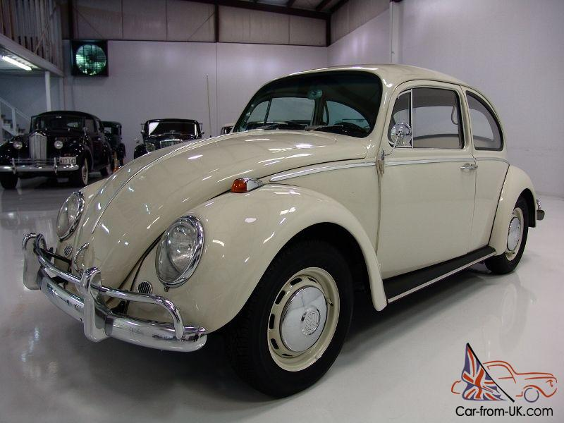 1966 Volkswagen Beetle Coupe S Matching Engine